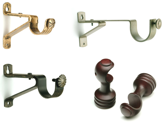 Curtain Rod Brackets - Buy Drapery Hardware Brackets