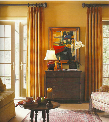 Curtains Ideas curtain placement : Curtain Rod Placement Ideas - Drapery Curtain Rods