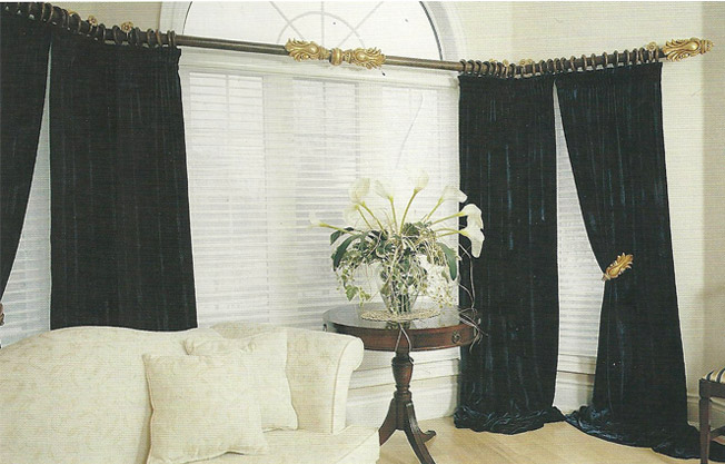 Curtains Ideas curtain placement : Curtain Rod Placement Ideas - Drapery Curtain Rods 2