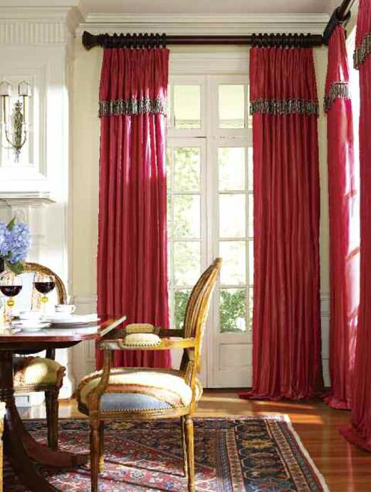 Curtains Ideas curtain placement : Curtain Rod Placement Ideas - Drapery Curtain Rods 2