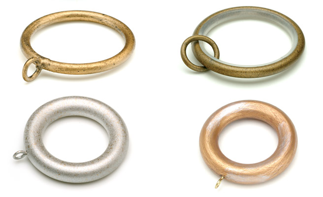 Drapery Rod Rings  Curtain Rod Rings