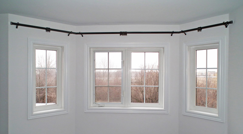 Bay Window Curtain Rods - Beautiful Curtain Rods For Bay Windows