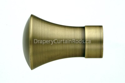 Antique brass decorative finials