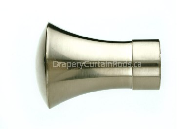 Nickle brushed decorative finials