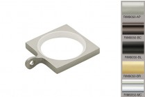 metal square curtain rings