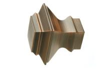 Dark copper decorative finials
