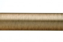 Dark copper plain curtain poles
