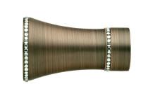 Dark Copper Finials CFN2-DC