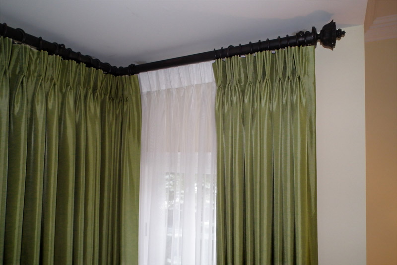 Curtain Rod For Corner Shower Curtain Rods Kirsch Parts