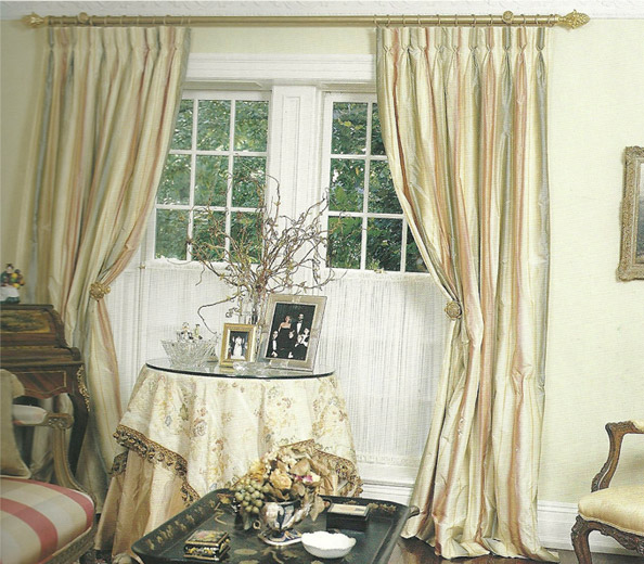 Curtain Rod Placement Ideas - Drapery Curtain Rods 2