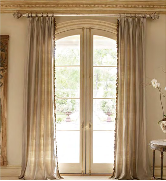 Curtain Rod Placement Ideas Drapery Curtain Rods