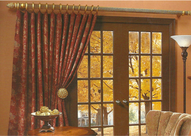 curtain rod placement ideas drapery curtain rods 2. Black Bedroom Furniture Sets. Home Design Ideas