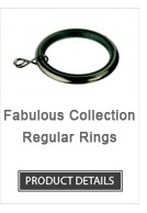 Iron Curtain Rod Rings Fabulous Collection