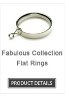 Flat Iron Curtain Rod Rings Fabulous Collection