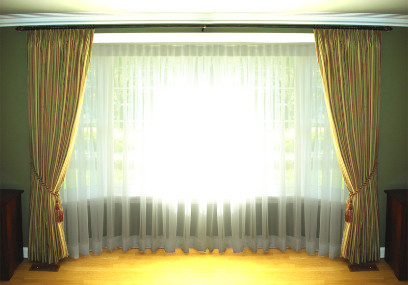 Long Curtain Rods - Beautiful Extra Long Drapery Rods