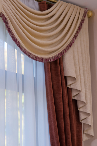 how to choose the right curtain rod for your window treatments discover drapery hardware. Black Bedroom Furniture Sets. Home Design Ideas