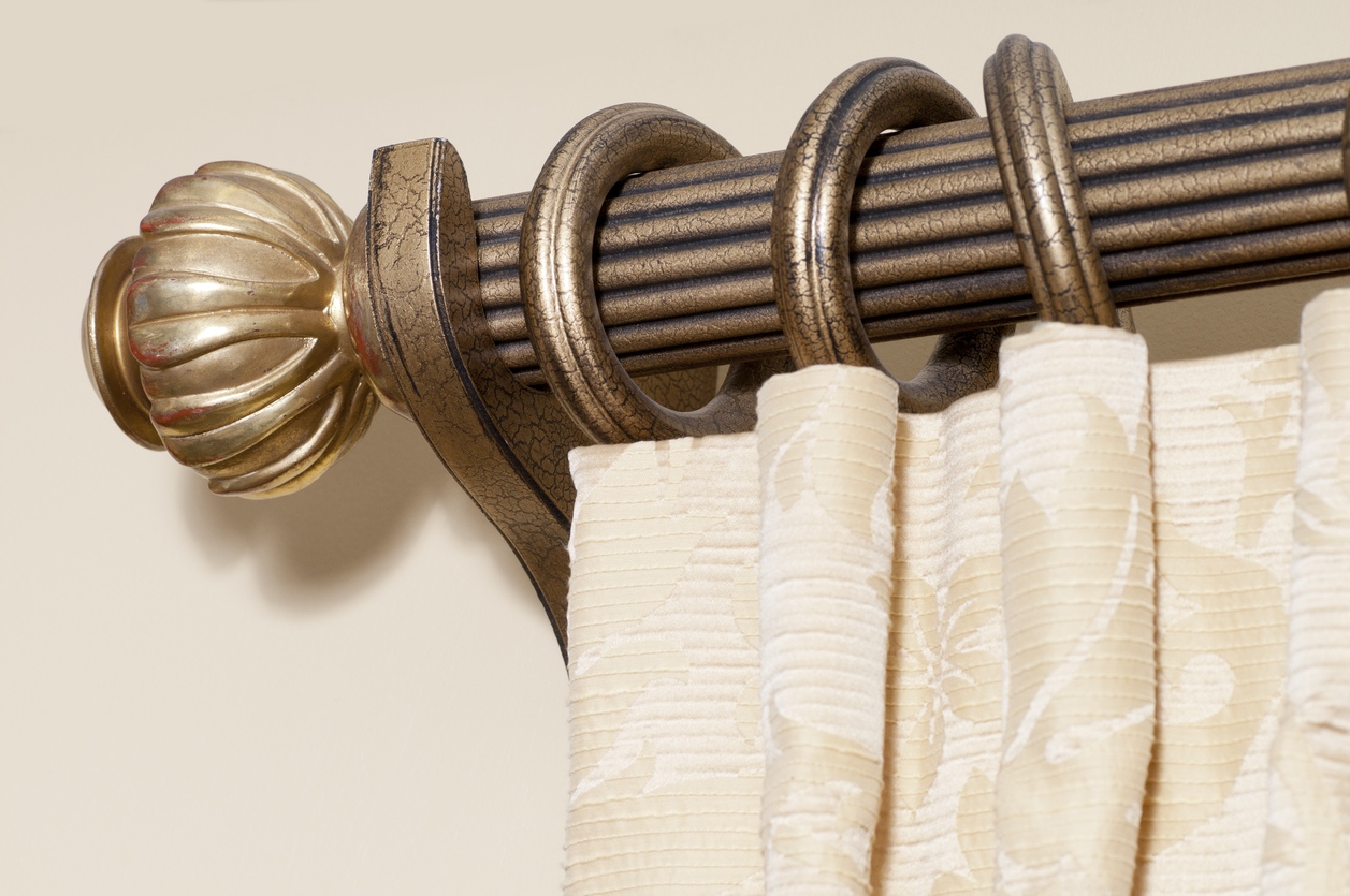 Everything you need to know about wood curtain rods