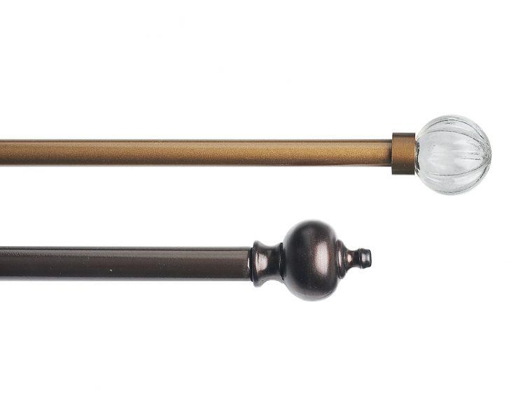 curtain rod sizes