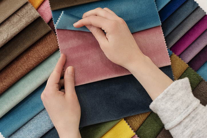 Checking out fabrics